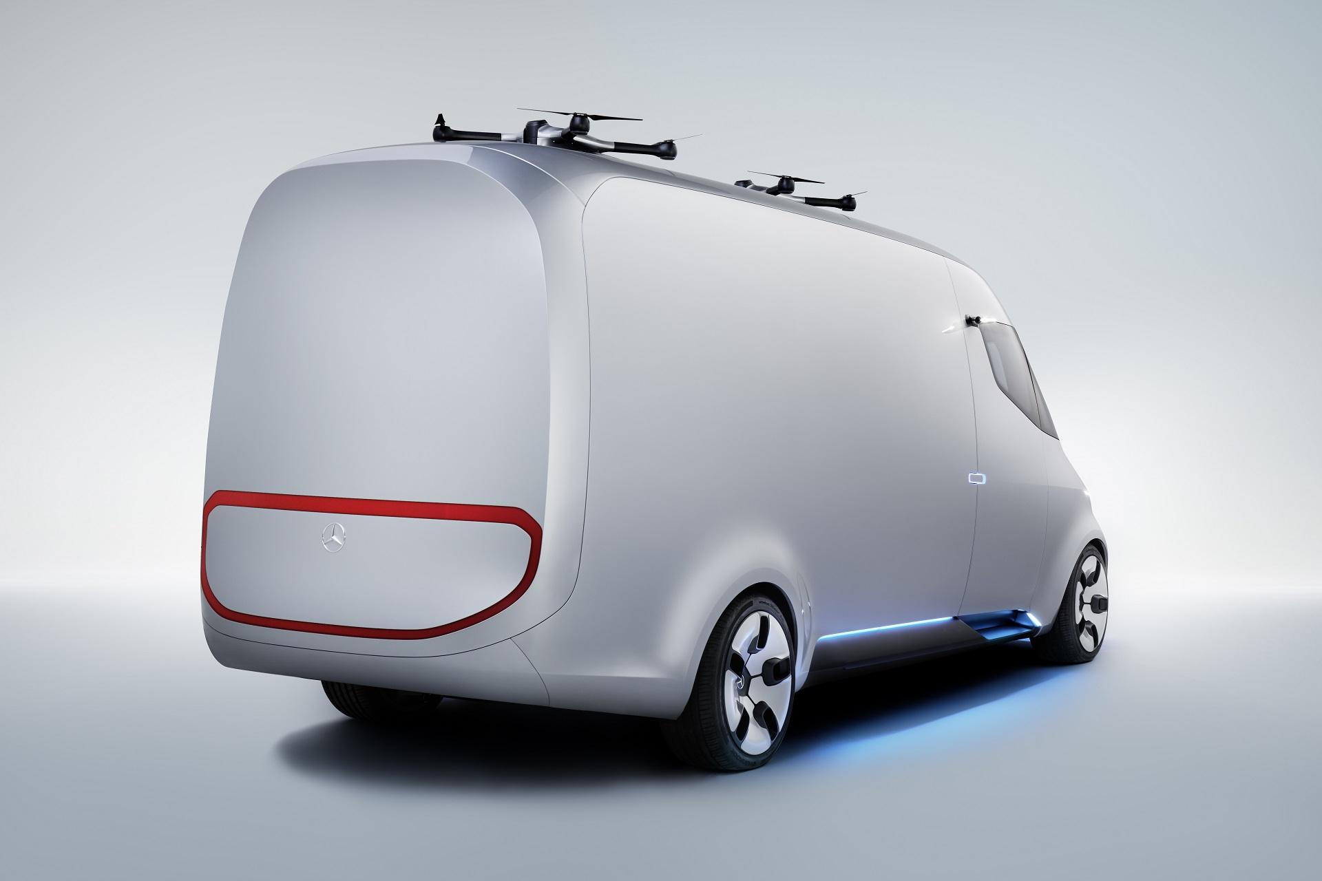 Mercedes-Benz Vision Van - Exterior