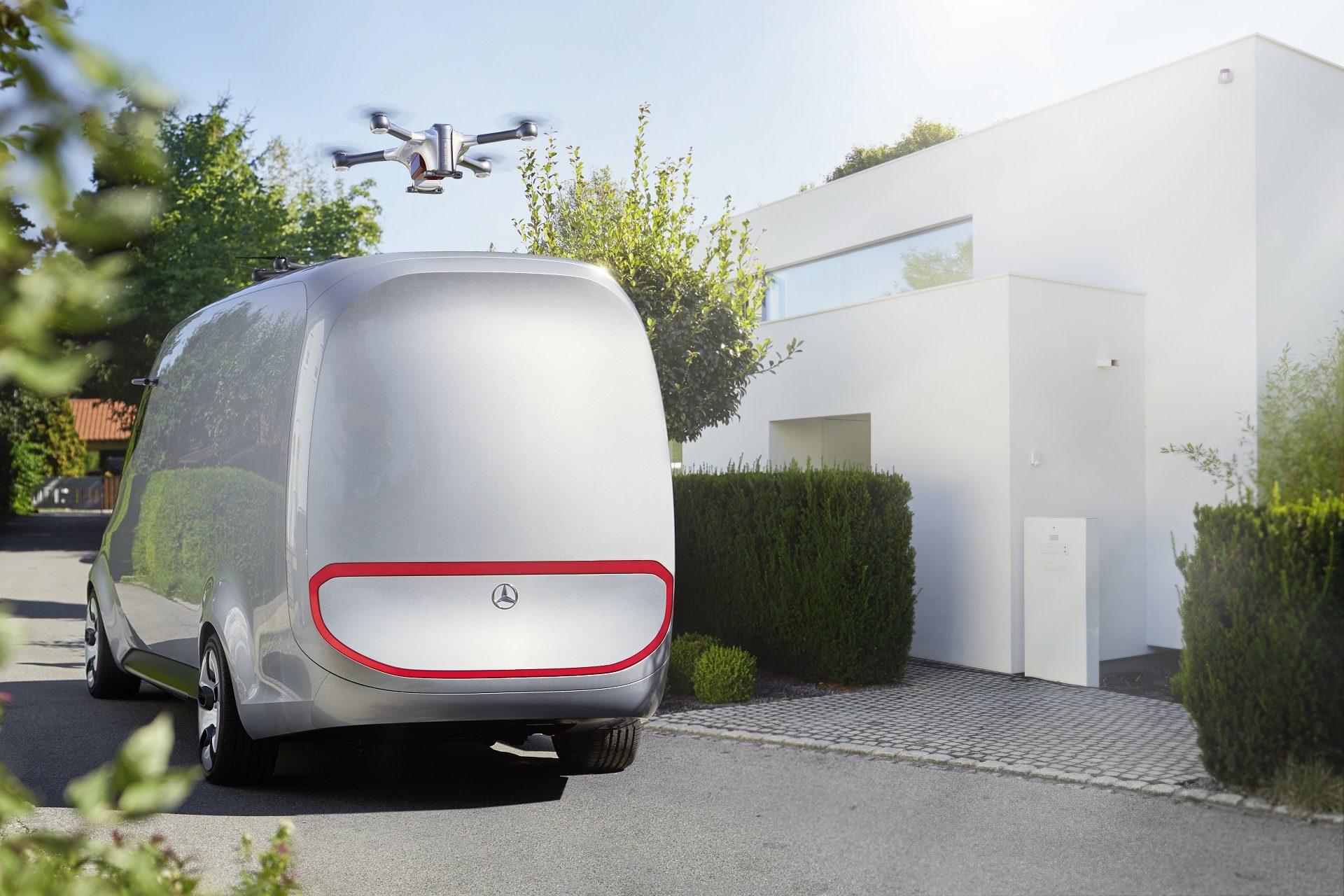 Mercedes-Benz Vision Van – Exterior
