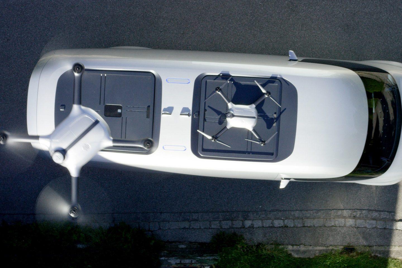 Mercedes-Benz Vision Van – Exterior, Roof